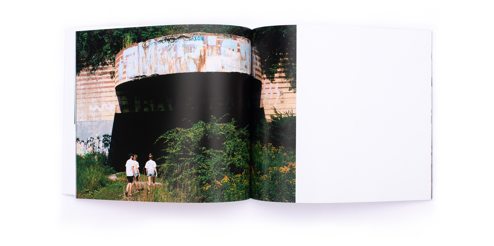 Middle Ground Collaborative Photo Book Spread 2 Design - Loren Marple