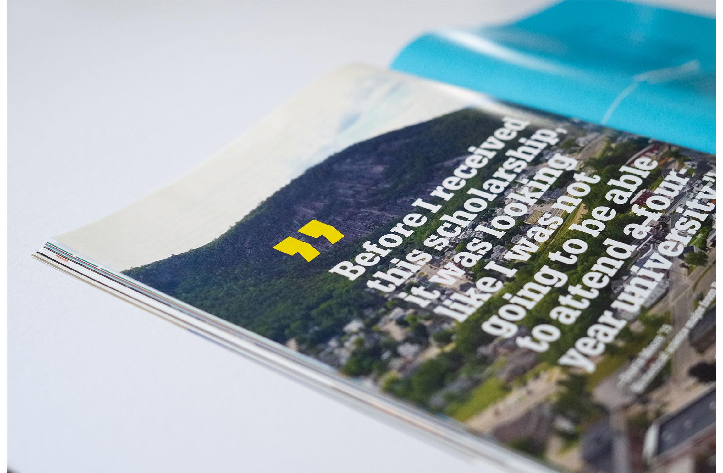 UNH Celebrate 150 Campaign Results Feature Design - Quote Spread - Loren Marple