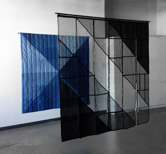 two quilts, 2016