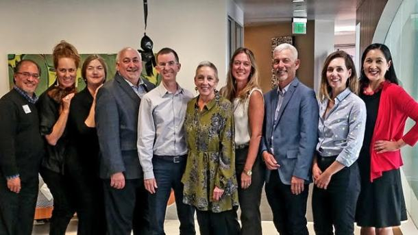 Members of the board of California Arts Advocates/Californians for the Arts and Executive Director Julie Baker met in Sacramento for a retreat on October 30th, 2018.