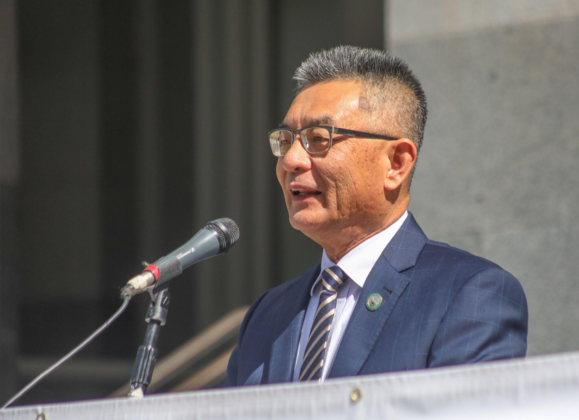 Assemblymember Kansen Chu