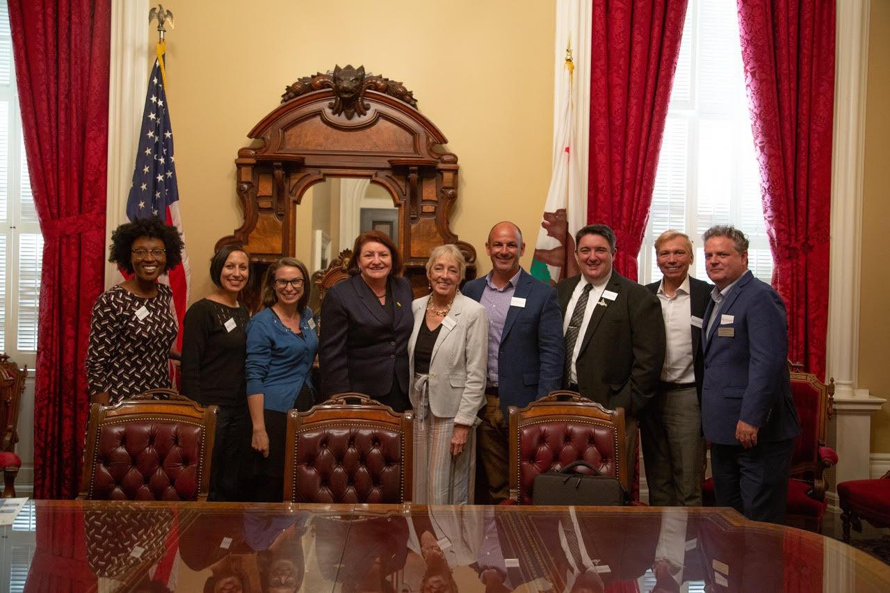 San Diego Delegations and Senator Atkins
