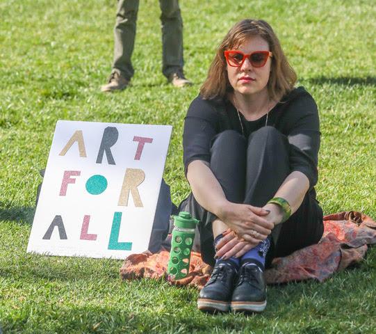 Arts Advocacy Day participant