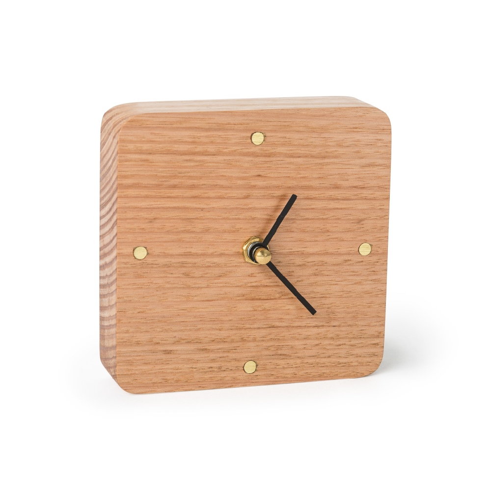 Sunrise clock-natural Oak