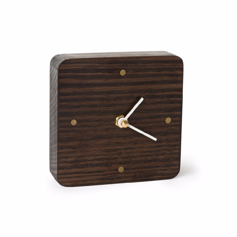 Sunrise clock-blackened Oak