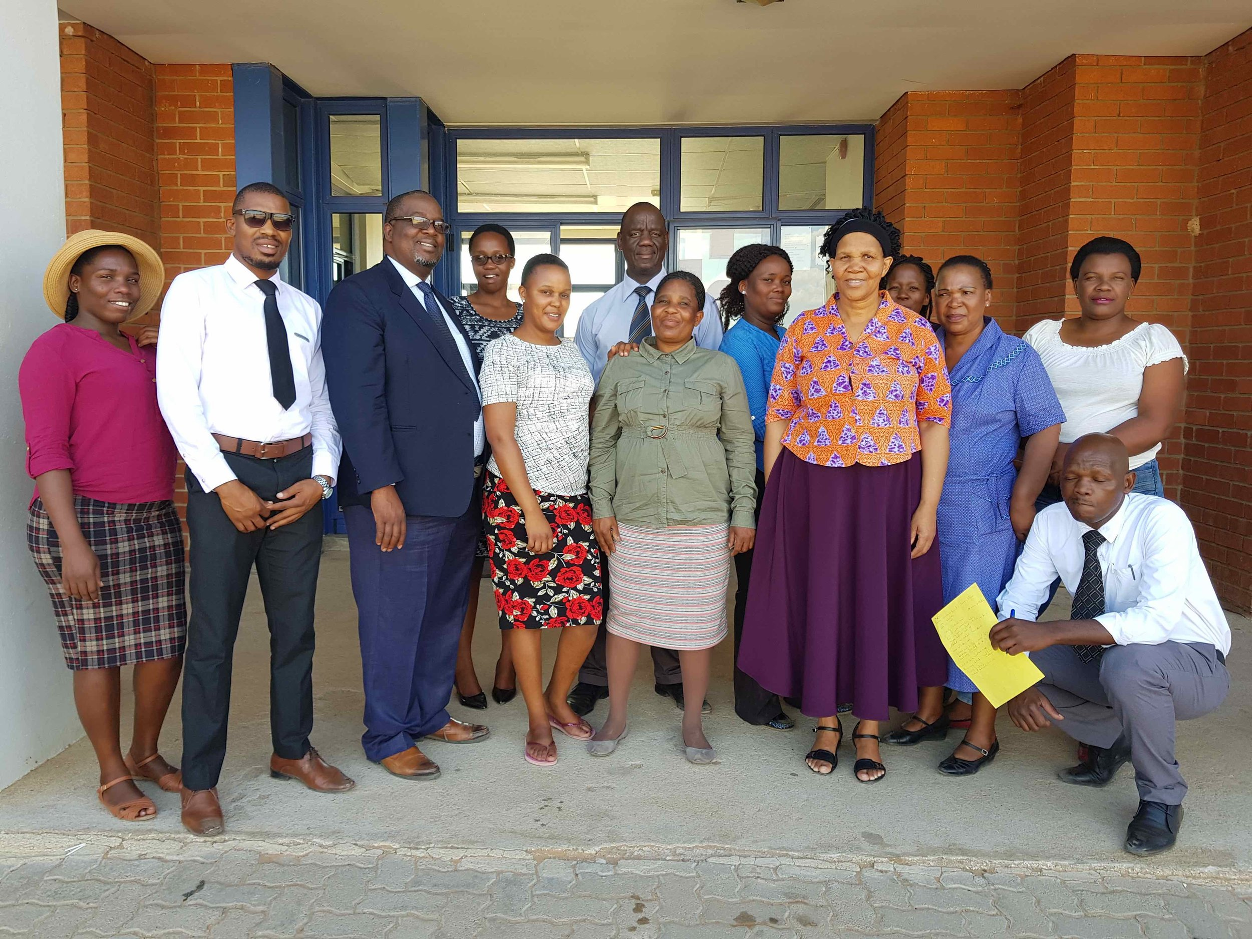 Letlhakeng Mhphute School heads and teachers.jpeg