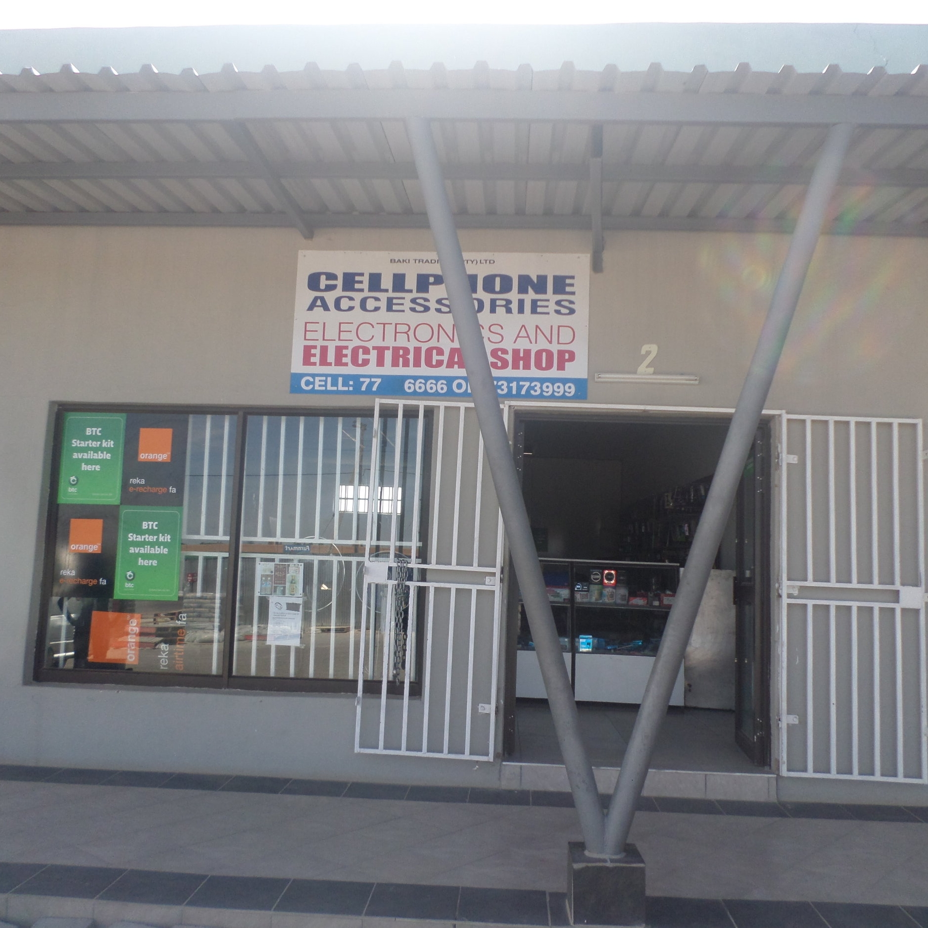 Baki Trading - Service Description∙ Cellphone and electronics accesoares.Opening Hours:Monday - Friday: 08:30-17:30Saturday: 09:00-13:00Sunday:Directions:Modimo WardContact: Nazgul Islam📞 (+267) 75 52 11 33✎ @