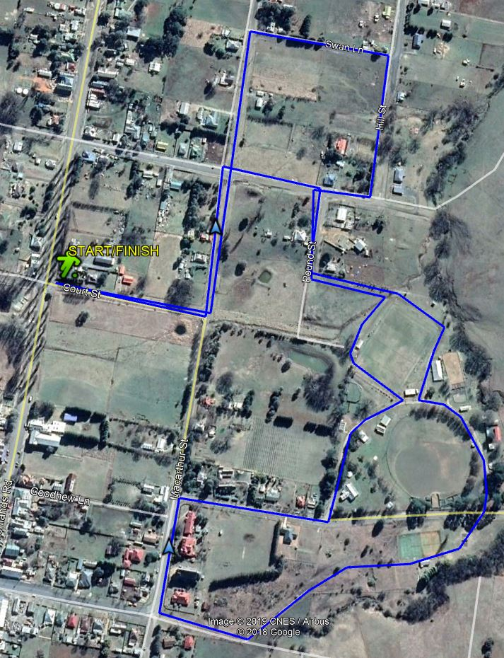 The 4 klm Taralga Spring fun run will start and finish in Court Street.
