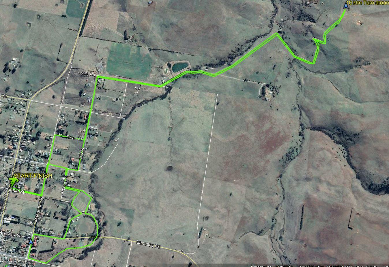 The 10klm Taralga Spring Fun Run will start and finish in Court Street