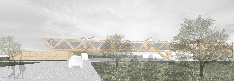 GREEN HUB - Sveriges mest hållbara Logistikcentrum GreenHub i Bro