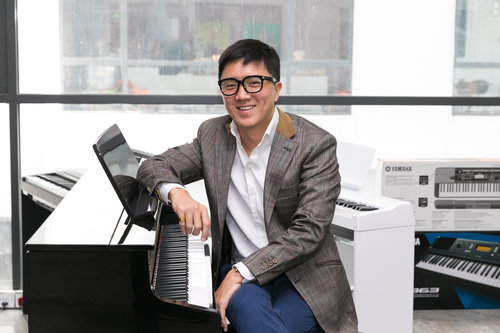 Our Founder and Music Director - Aaron Goh