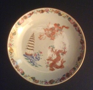 Mended plate