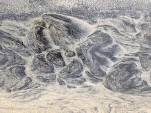 Sand patterns at Luskentyre