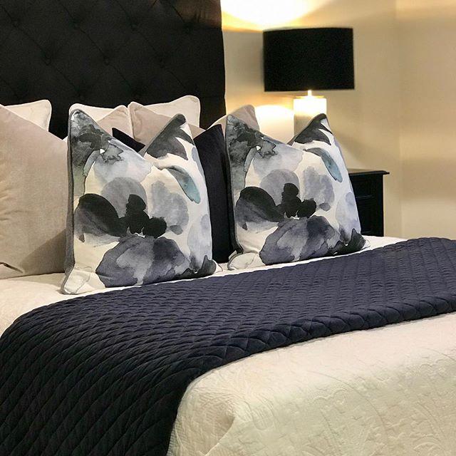 Adding elegance & sophistication to this master bedroom #pravdapropertystyling