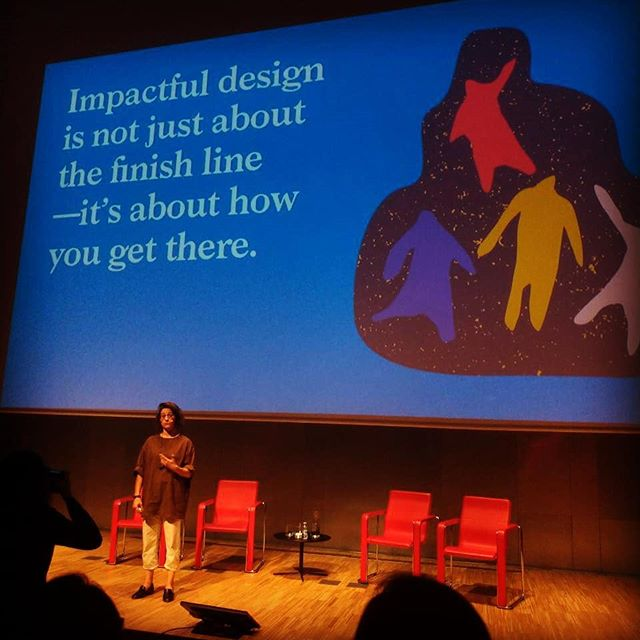 """""""Impactful design is not just about the finish line - it's about how you get there."""" What a pleasent time at Service Design Days Barcelona.  #weareforetelle #weareforetelle #weareforeteller #Foreteller #servicedesign #SDDBCN #servicedesigndays #IDEO #MeaganDurlak #servicedesign #designthinking #barcelona #learning #sharing #event #conference"""
