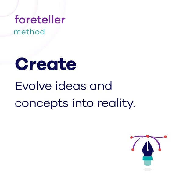 Meet the #3 @weareforeteller's method.  This is truly an exciting stage as we shape ideas and concepts into tangible solutions.