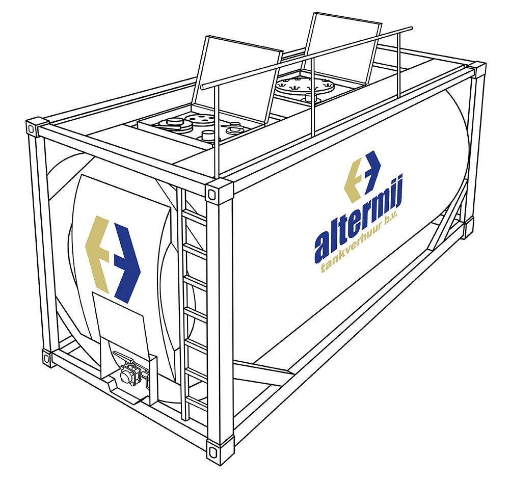 Standaard tank - • 14.500 – 26.000 liter capaciteit• Chemie en Food tanks beschikbaar• Verschillende modificaties mogelijk