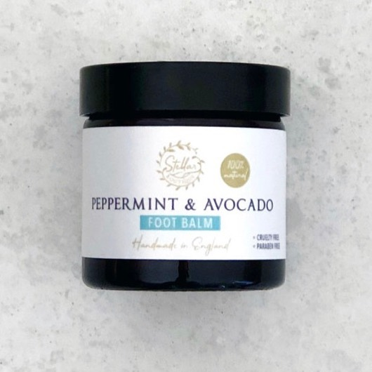 In this gorgeous ☀️ we need to keep our feet nice and moisturised✅  This gorgeous foot balm is made with key ingredients such as peppermint and avocado, Shea butter and cocoa seed butter to leave your feet feeling tingling hydrated.  A small amount is needed and this glass jar will keep you going for at least 6 months 🦶🦶 .  Take care is your feet care. We take for granted the time we spend on them.  Keep them feeling Stellar 💚