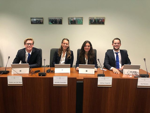 First University Council!💪🏼🎉 We handed in an iniative on Student Wellbeing and continued to express our concerns on the growth of the university.#tilburguniversity #universitycouncil #studentpartysam