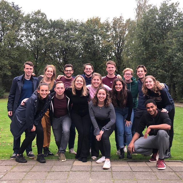 Last weekend we had our annual Old Party Weekend! Apart from exchanging experiences from their year, we also played games and had a lot of fun together!