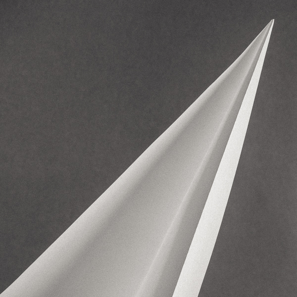 ABST_008 Rocket. Black and white abstract. Limited edition photographic print by Paul Coghlin