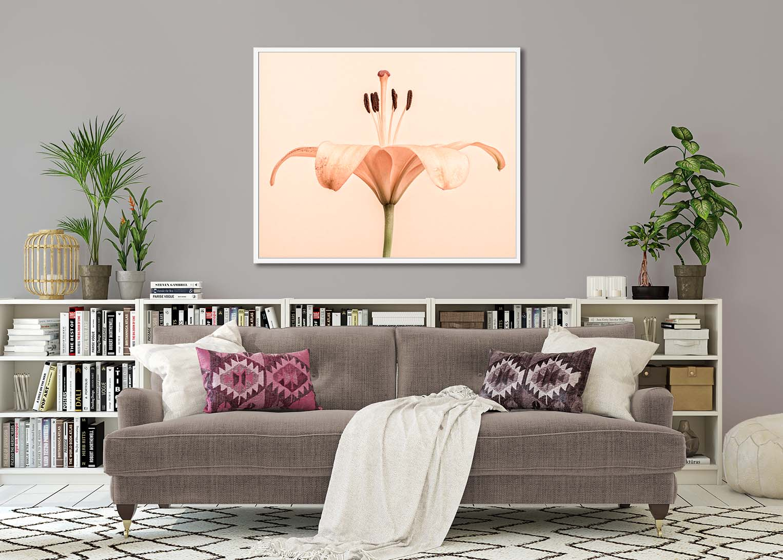 Lily Unfurled. Limited edition photographic print of a lily by fine art photographer Paul Coghlin.