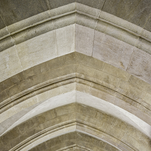 Stonecraft I. Abstract photographs of cathedral stoneworks by fine art photographer Paul Coghlin. Limited edition photographic prints.