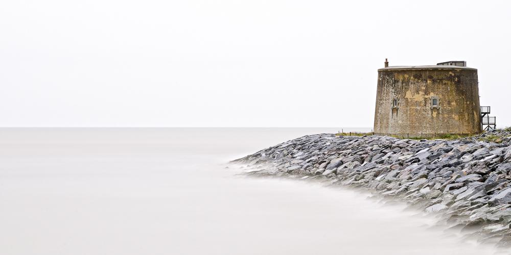 Mortello II. Seascape photographic print of a Mortello by fine art photographer Paul Coghlin.