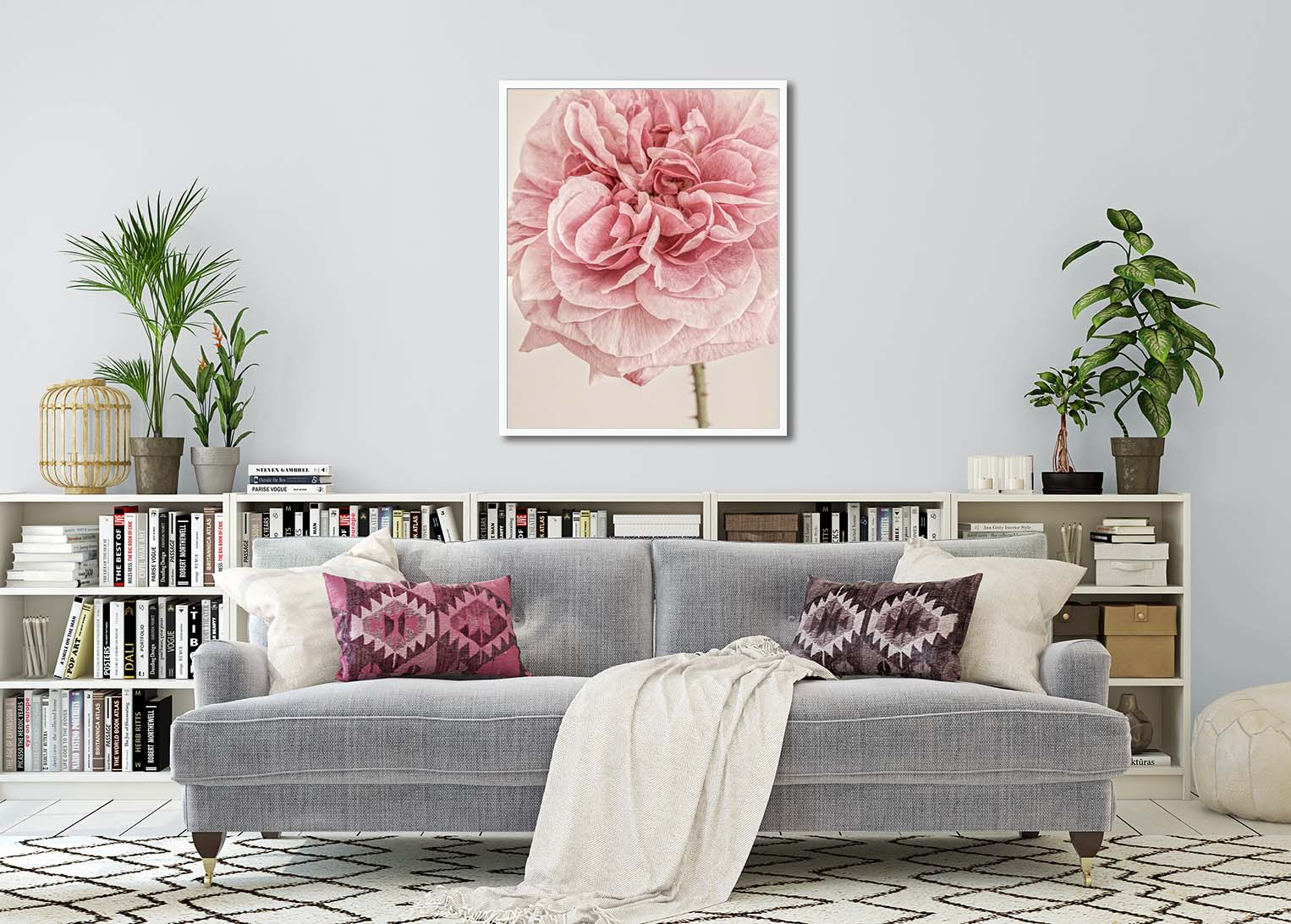 Limited edition fine art floral print of a dahlia by Paul Coghlin FBIPP
