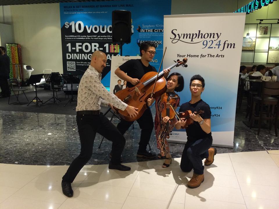 Symphony 92.4fm performance