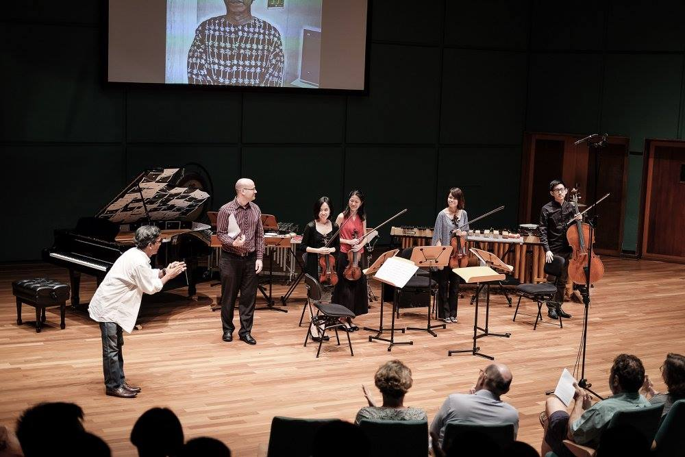 From  SETTS ensemble concert   Photo by  Andrew Bi Photography