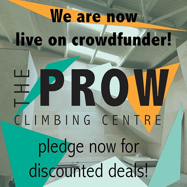 We are now live on @crowdfunderuk  Grab your rewards while you can!! Early memberships available! #climbing #cornwall @weclimbuk #bouldering #funding