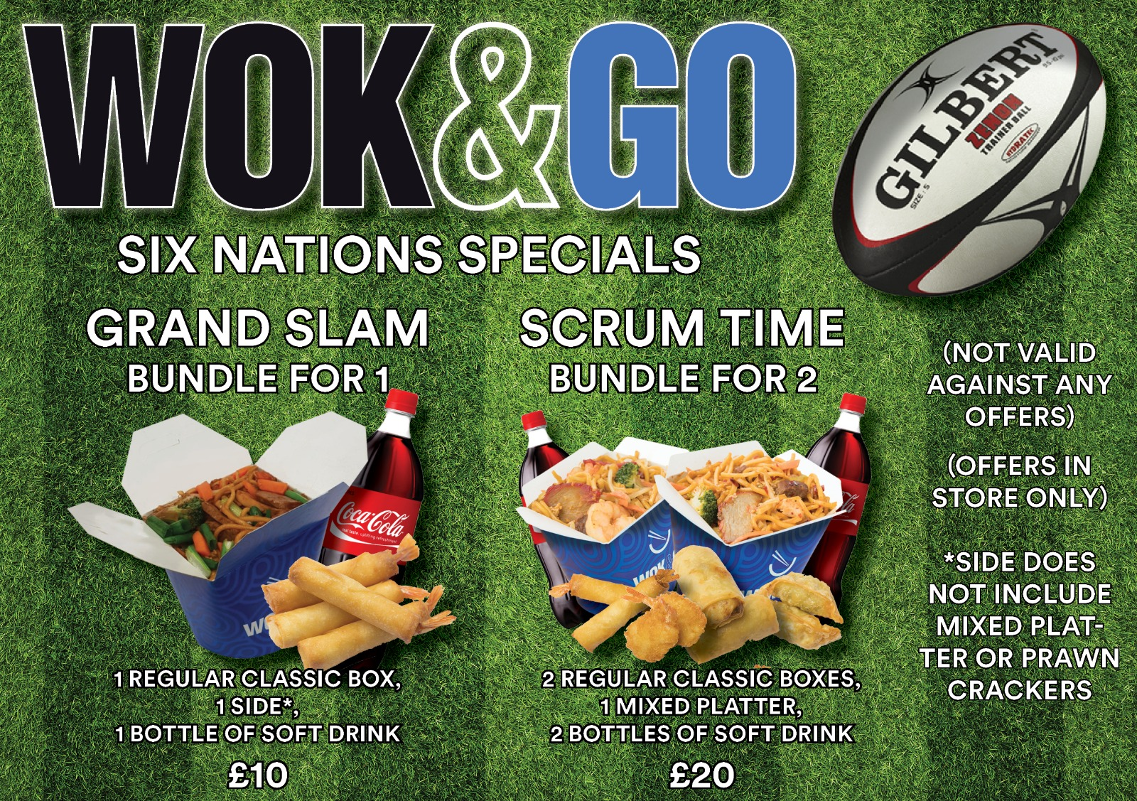 Wok&Go Offers Deals Bundles