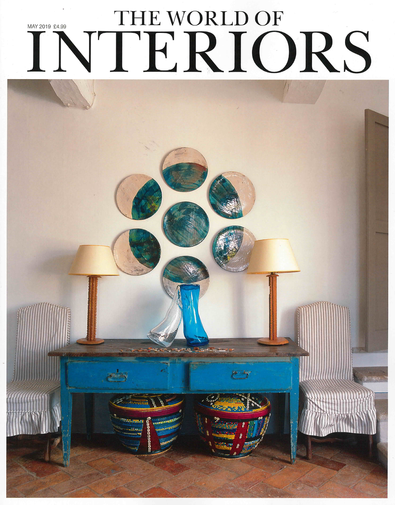 As seen in World of Interiors // May 2019 // The Treasure Chest