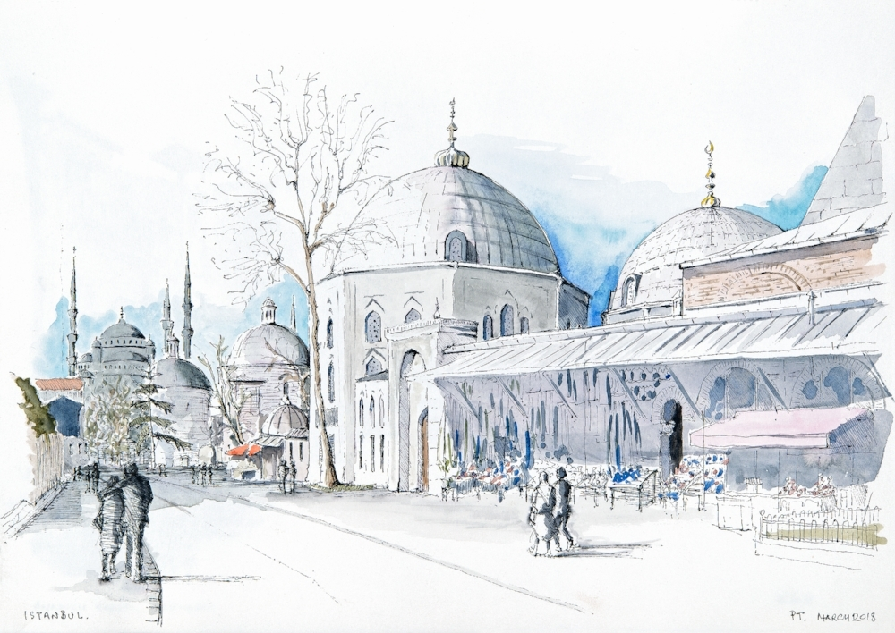 Tomb of the Sultans, Istanbul