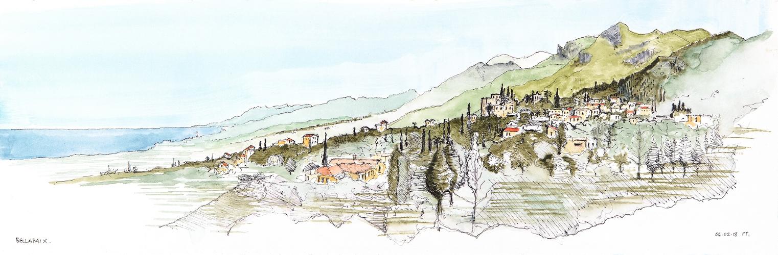 Bellapaix panorama