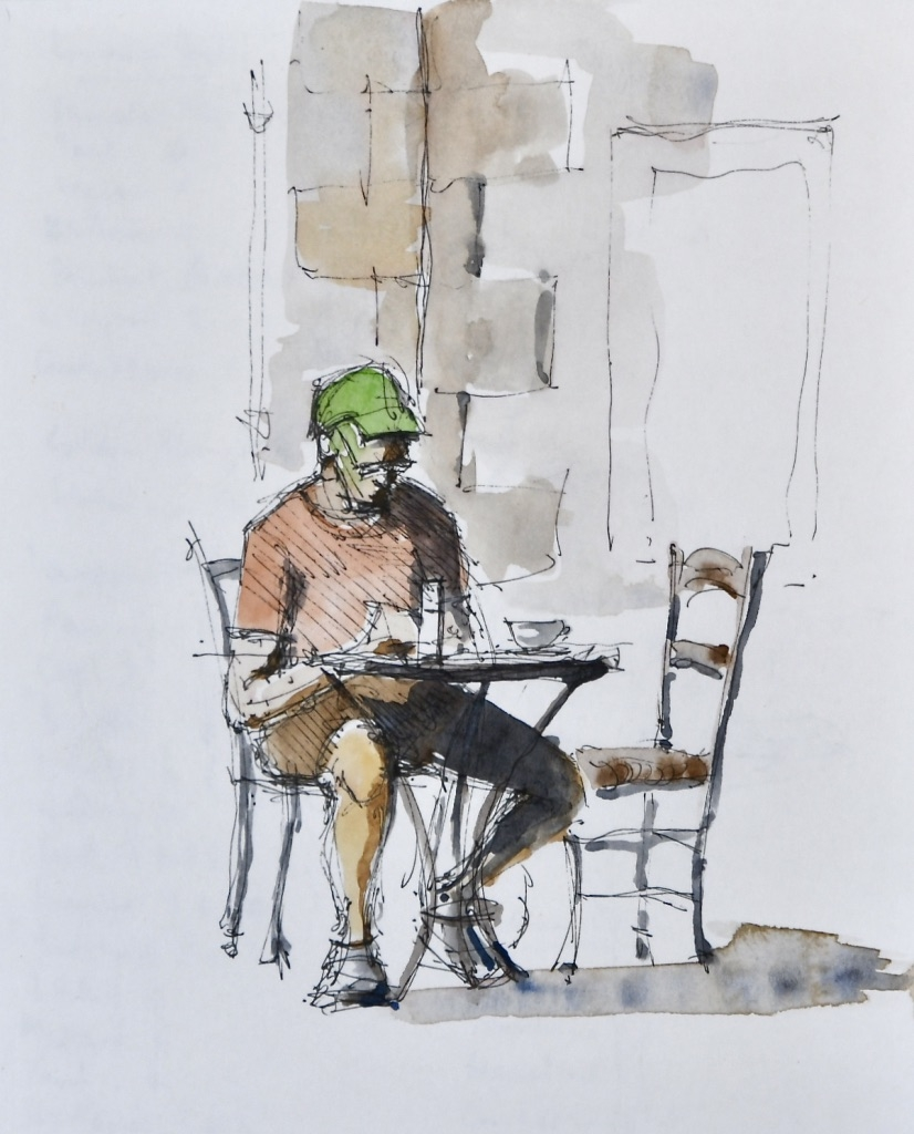 Coffee drinker, Nicosia