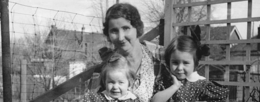 46 Barbara & sis w-paternal grandma McGilvraybw.jpg