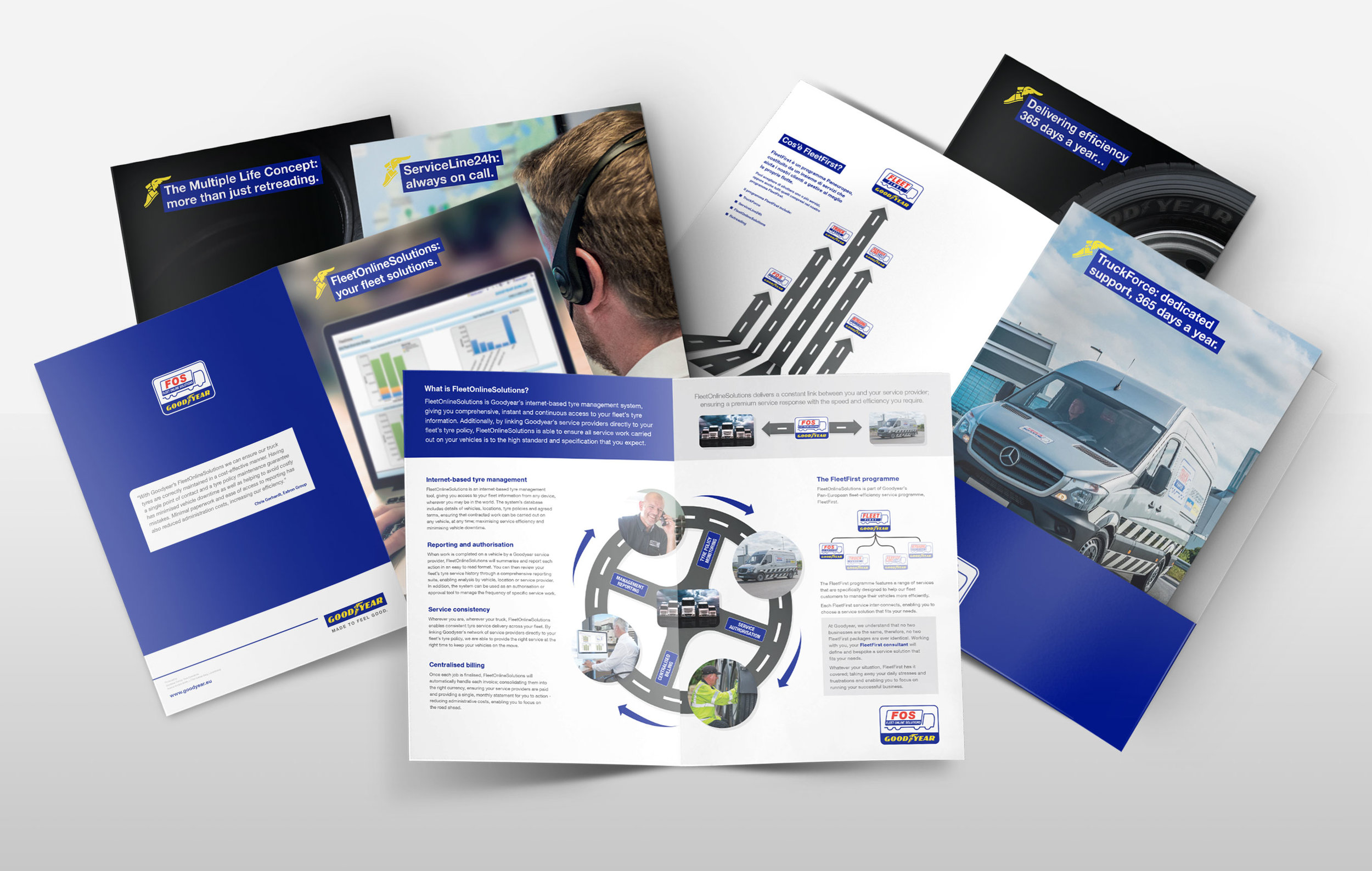 <strong>GOODYEAR</strong><p> Brochures</p>