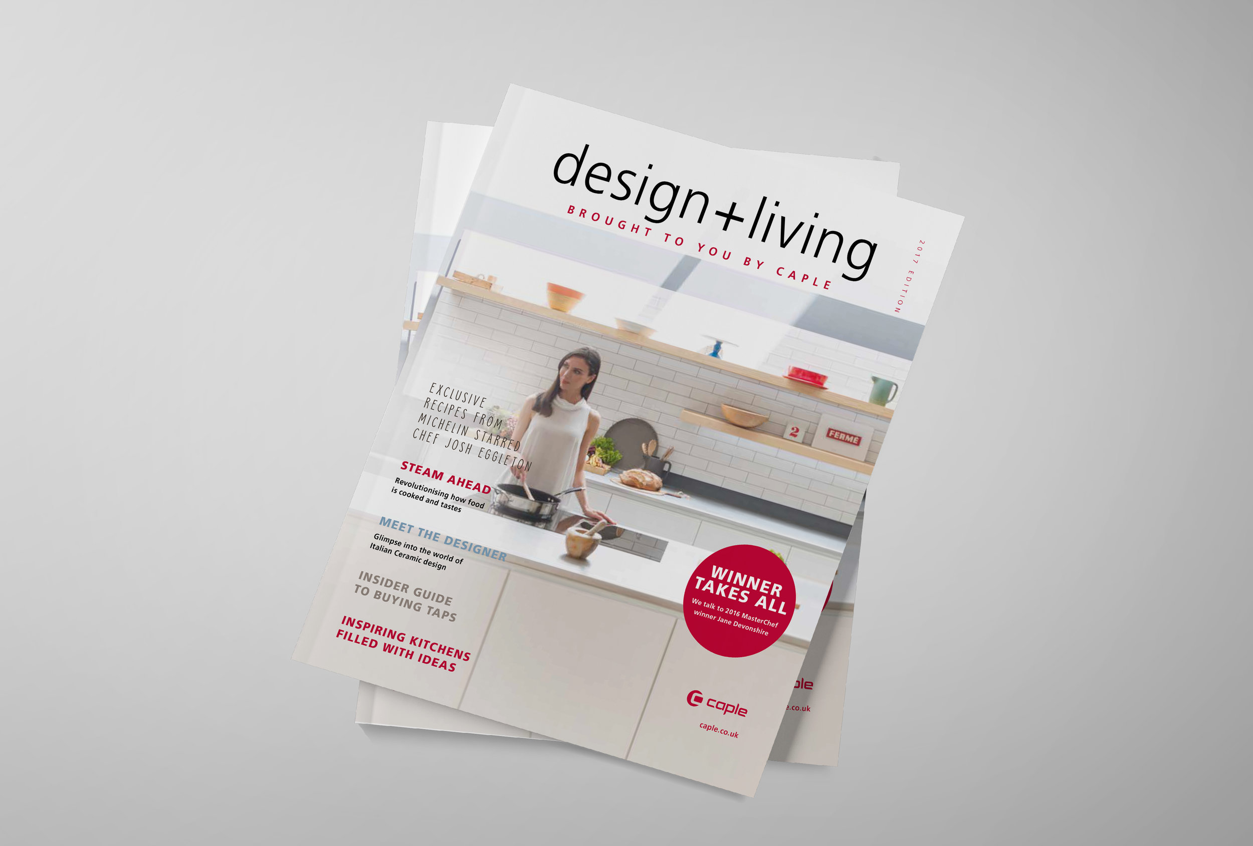 <strong>CAPLE</strong><p>Design + Living Magazine</p>
