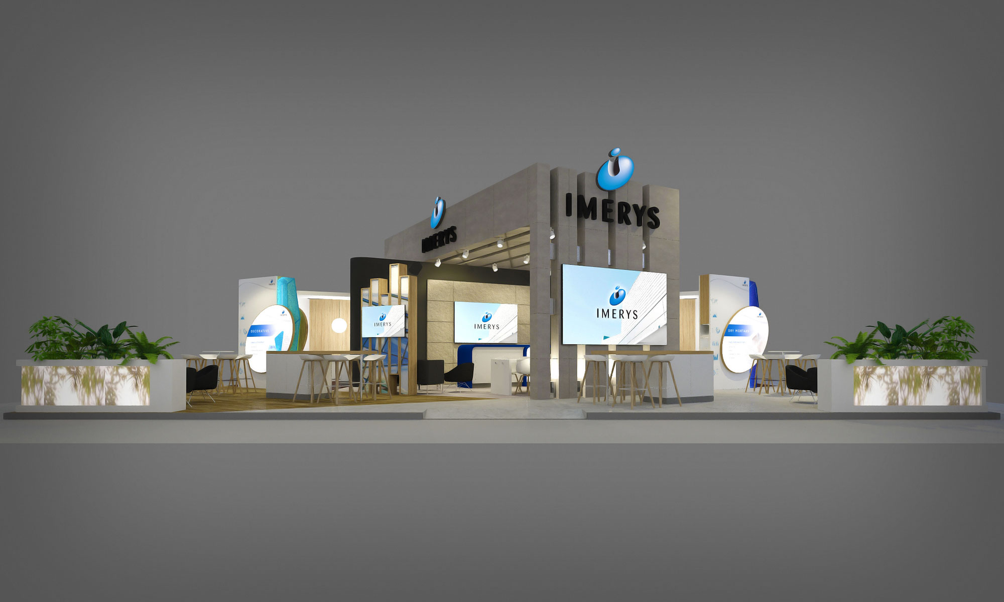 <strong>IMERYS</strong><p>Exhibition Stand</p>