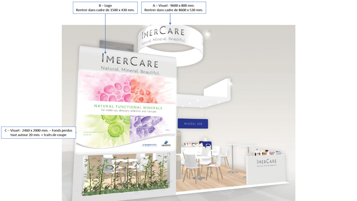 <strong>IMERYS</strong><p>Exhibition Stand Graphics</p>