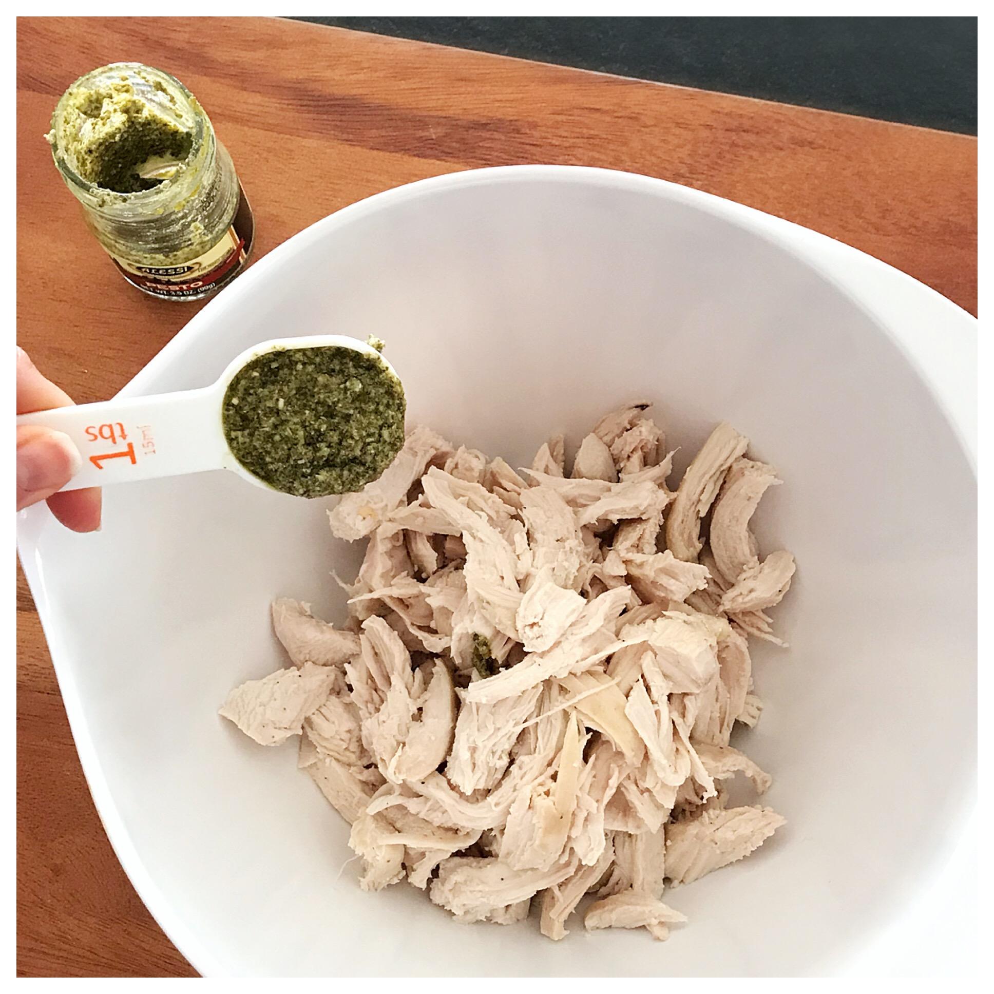 Add Pesto to Chicken.JPG