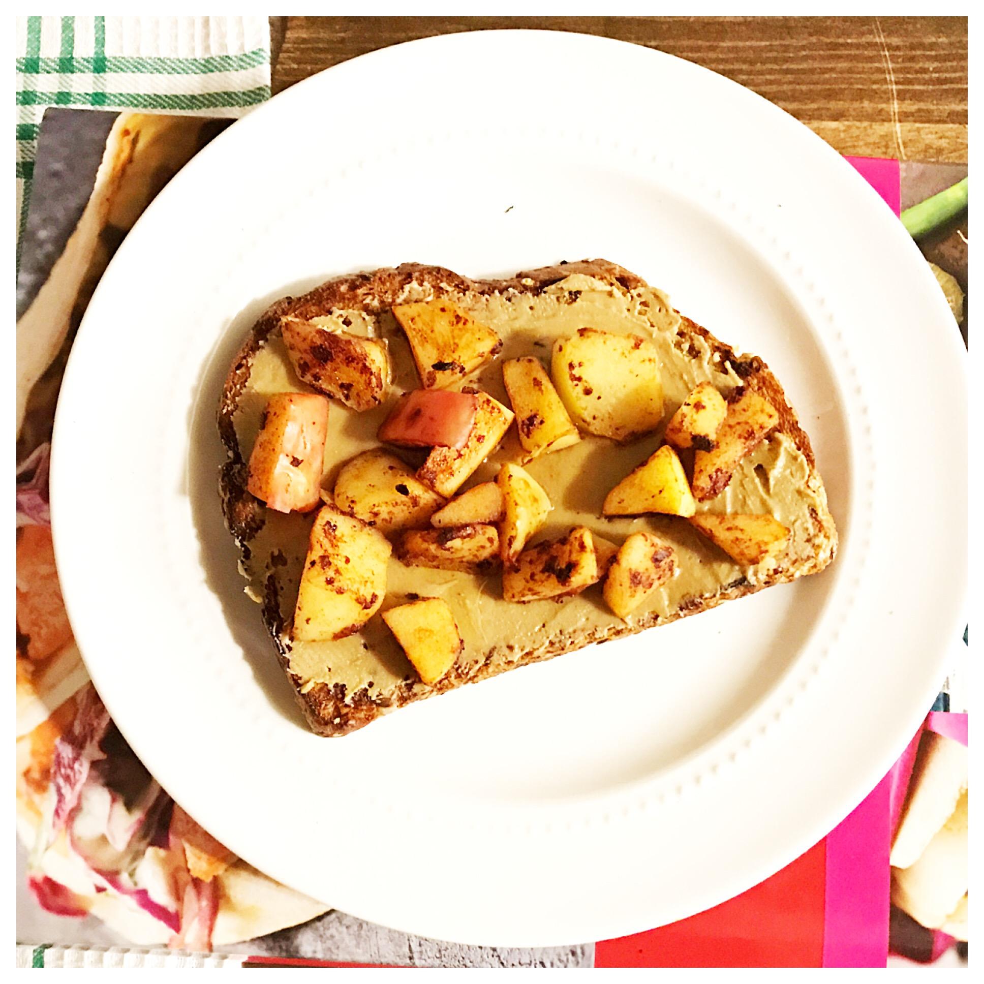 cinnamon apple toast aerial 2.JPG
