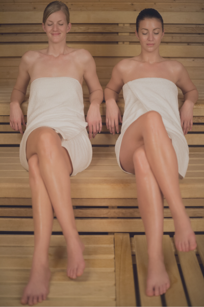 How Infrared saunas work - Sweat it out!Infrared light helps our cells regenerate. It's invigorating heat encourages oxygen-rich blood to pump through your body—relieving pain and promoting healing of deep tissues.The most notable characteristic of infrared heat is its exceptional ability to penetrate far below the top skin layers. That means an infrared sauna can warm your body to a much greater depth and much more effectively than a conventional sauna. This important difference explains many of the unparalleled benefits people see everyday.Infrared therapy works as a healing agent, with no side effects. It is used in pain institutes around the country as a form of pain treatment, and the FDA has approved its therapeutic use.Infrared Sauna BenefitsDetoxification - 7x more detoxifying than traditional heatAnti-anxiety and depression - increases feel good chemicals and lowers cortisolCalorie burn - up to 600 calories per hourAnti-aging - boosts collagen and produces a healthy