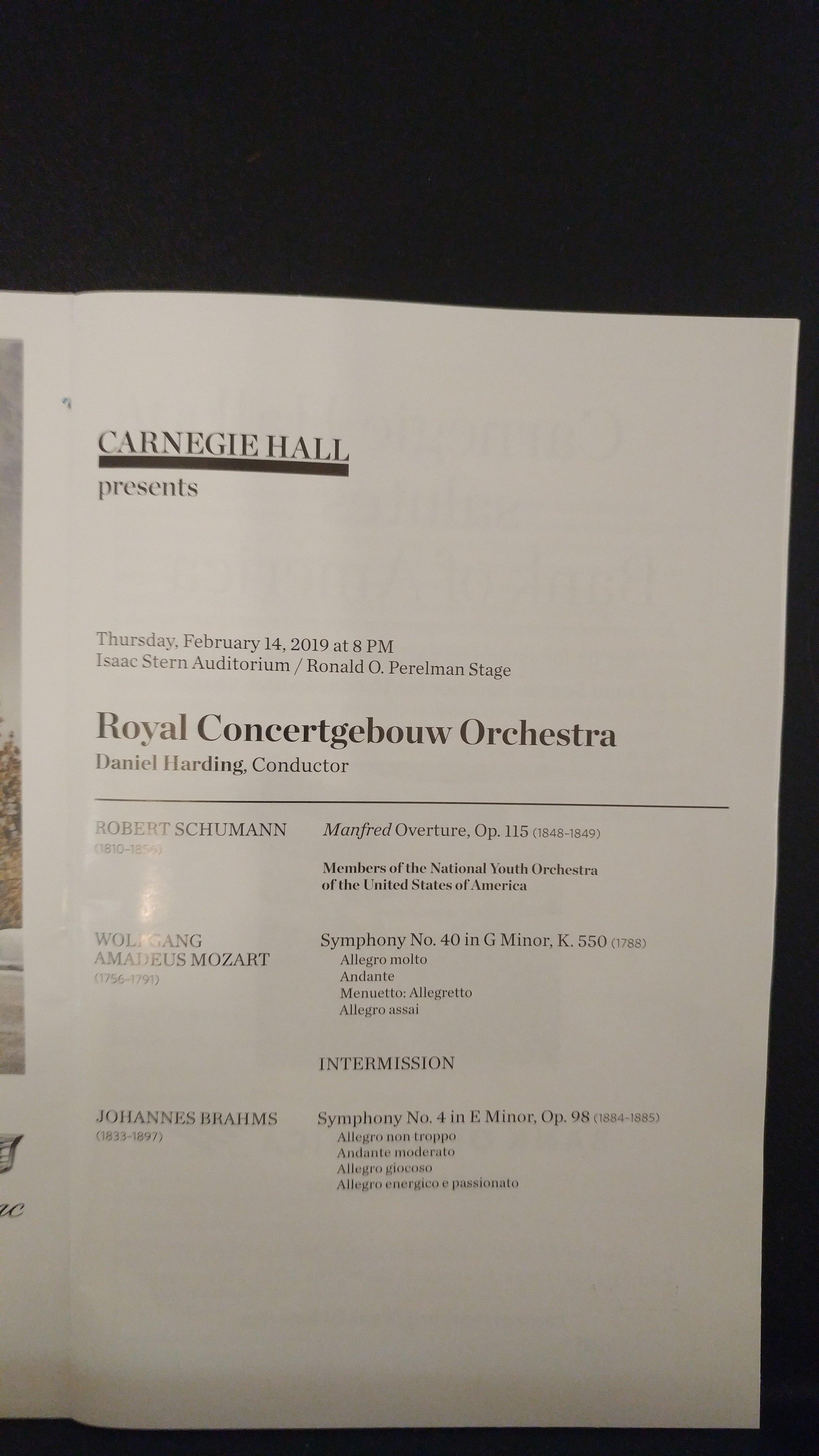 Carnegie Concertgebouw Program.jpg