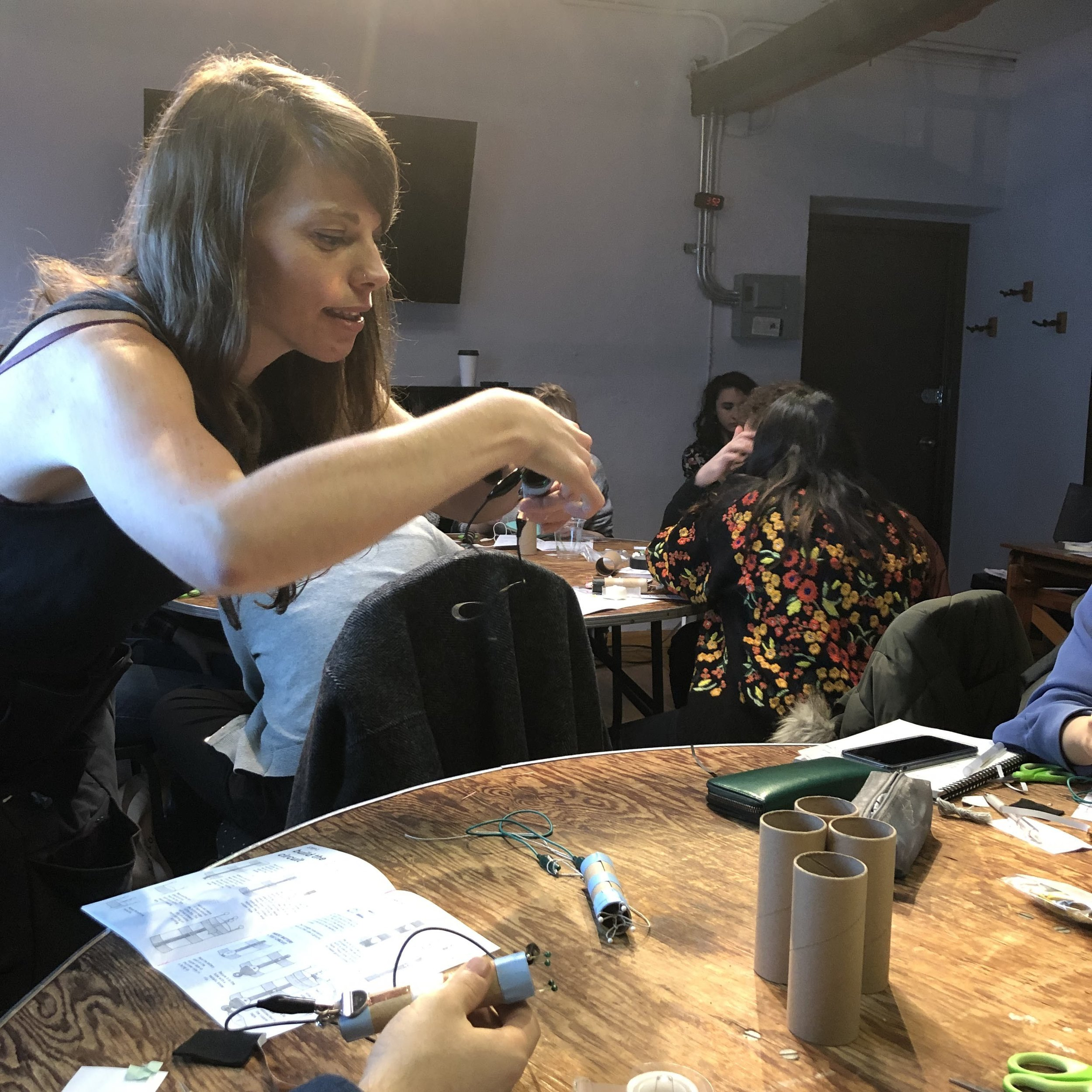 Knitting Sensors with Liza Stark