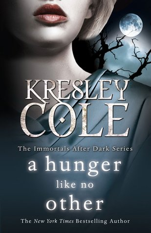 A Hunger Like No Other cover, but Twilight-y