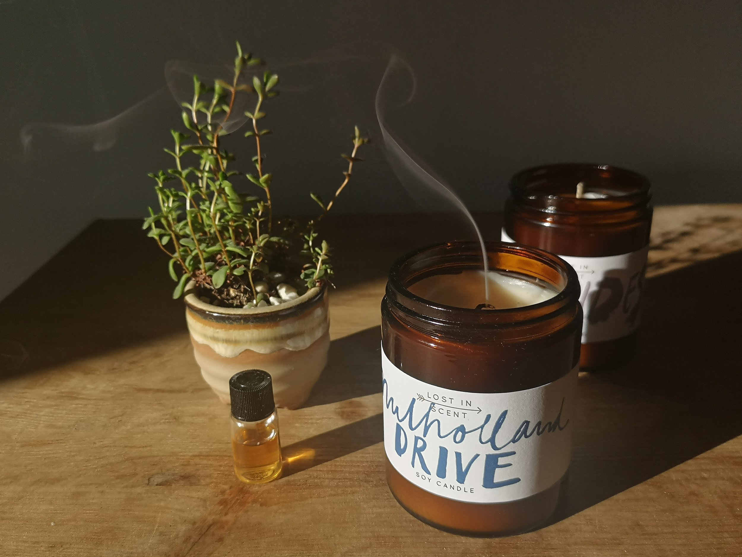 Lost in Scent - Soy candles, Mulholland Drive and Hebrides