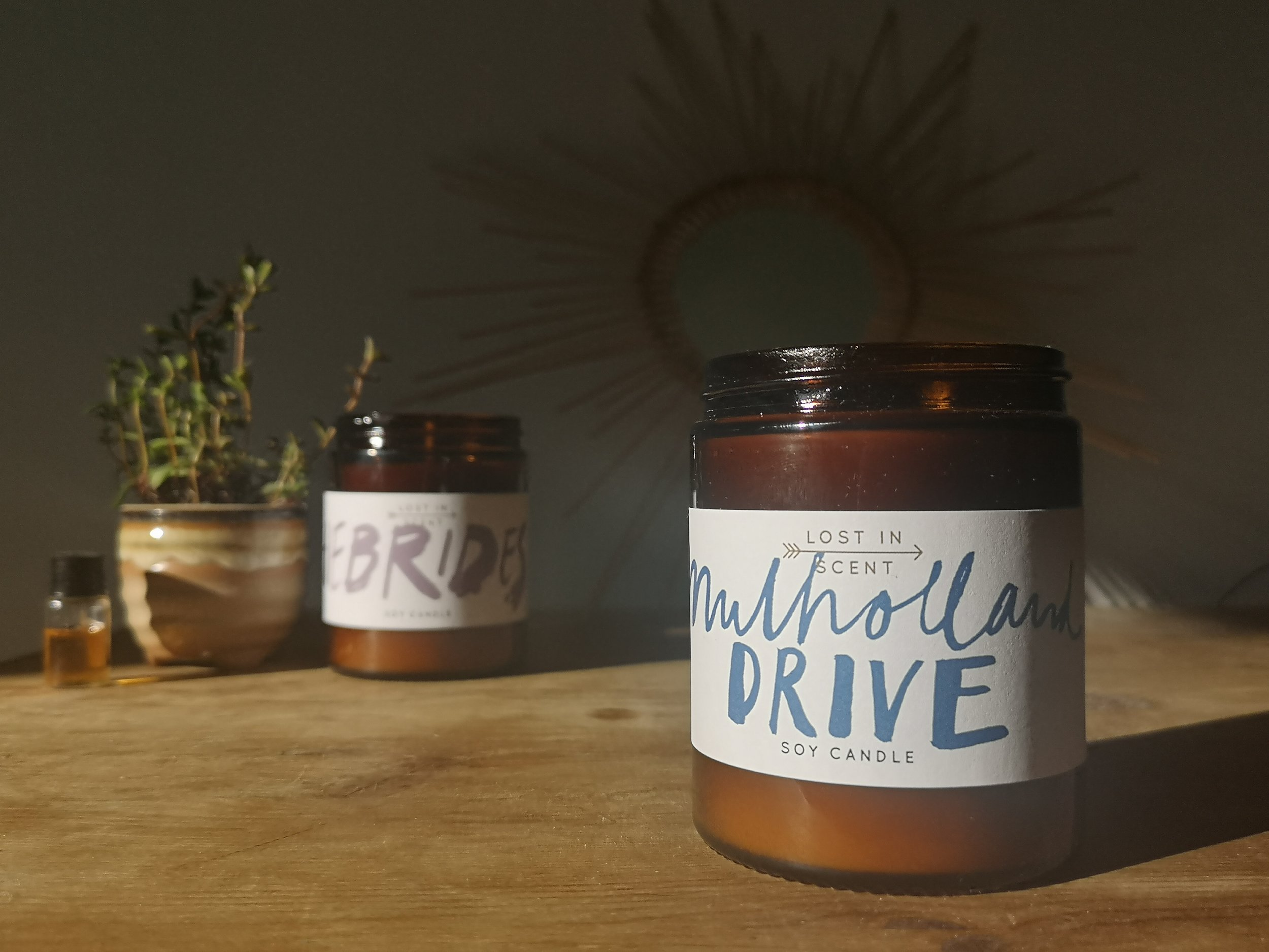 Lost in Scent - Soy candles - Mulholland Drive